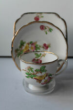 REID & Co ROSLYN FINE CHINA TRIO INCLUDES CUP SAUCER PLATE 5015 VINTAGE ART DECO