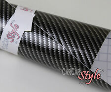 【2D GLOSS CARBON FIBRE】500mm X 1520mm AIR FREE Vehicle Wrap Vinyl Sticker