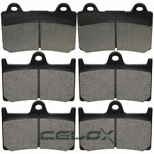 Front Rear Brake Pads For Yamaha XV1700A Road Star 1700 2005-2008