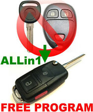 EUROPE STYLE FLIP KEY REMOTE FOR CHEVY CAPTIVA SPORT CHIP KEYLESS ENTRY FOB EAR
