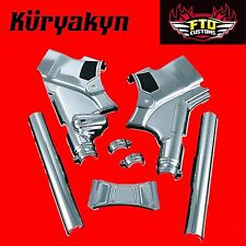 Kuryakyn Deluxe Neck Covers 09-'13 Harley Davidson Touring 7832