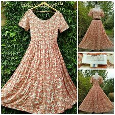 VINTAGE 60s 70s INDIAN DRESS ANOKHI GAUZE 6 8 10 HIPPY FOLK GYPSY BOHO FESTIVAL