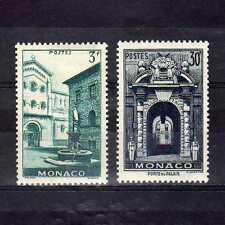 MONACO Yvert n° 369/370 neuf avec charnière MH