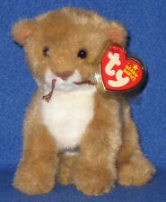 TY MANES the LION BEANIE BABY - MINT with MINT TAG