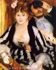 The Theater Box by Auguste Renoir - Woman Man Paris Fashion 8x10 Art Print 0499