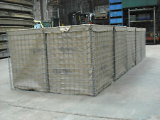 Hesco Bastion Gabion Wall, 5mt x 1.5mt x 1mt Ex army never used