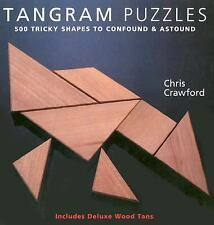 Tangram Puzzles: 500 Tricky Shapes to Confound & Astound/ Includes Deluxe Wood T
