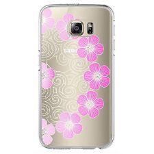 Soft TPU Gel Skin Case Transparent Slim Shockproof Cover for Samsung Models