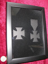 WW1 Iron Cross 1st & 2nd Class Frame