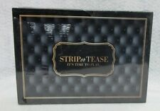Strip Or Tease Card Game Dice Adult Play Steamy Hot Sexy Great Lovers Fun Gift
