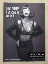B350-Advertising Pubblicità-2012 - PIAZZA ITALIA - SPONSOR DELLA GENTE COMUNE