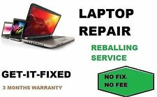 HP TX1000 TX2000 TX2500 DV6500 Laptop Motherboard GPU Repair Service