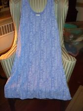 """NWT FRESH PRODUCE COTTON S/S """"HAPPY LIFE""""  DESIGN SUNDRESS IN PERIWINKLE..(XXL)"""