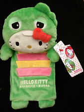 New  Hello Kitty Gachapin Mukku Toilet Paper Holder Plush from Japan-ship free