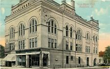 c1910 Printed Postcard; Svea Music Hall, Rockford IL Winnebago County Unposted