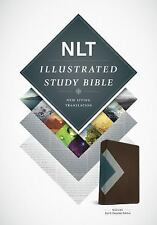 ILLUSTRATED STUDY BIBLE - NEW PAPERBACK BOOK