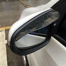 Car Accessories Rear View Side Mirror Visor Sun Rain Guard Protector Trim Brown