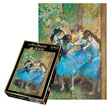 Trefl 1000 Piece Art Adult Dancers In Blue Painting Large Floor Jigsaw Puzzle