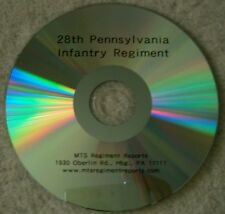Civil War History of the 28th Pennsylvania Infantry Regiment