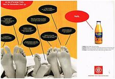 Publicité Advertising 1998 (2 pages) Le Jus d'Oranges  E.Leclerc