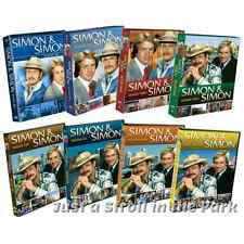 Simon & Simon Complete TV Series Seasons 1 2 3 4 5 6 7 8 Boxed / DVD Set(s) NEW