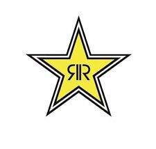 Factory Effex - 15-94730 - Rockstar Energy Drink 12in. Die-Cut Sticker