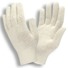 25 DOZEN 300 PAIR WHITE POLY COTTON STRING KNIT WORK GLOVES NEW LARGE L