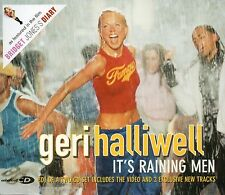 GERI HALLIWELL - IT'S RAINING MEN (3 tracks and video CD single)