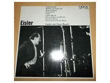 Eisler -  Lieder mit Ernst Busch - LP