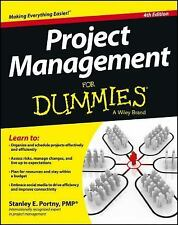 Project Management For Dummies, Portny, Stanley E., Good Book