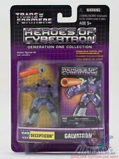 Hasbro Transformers Heroes of Cybertron HOC Galvatron PVC figure MOC