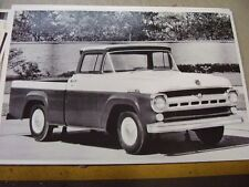 1959 FORD F100 PICKUP  12 X 18 LARGE PICTURE   PHOTO