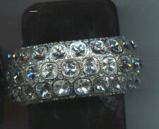 KENNETH LANE CLEAR CRYSTAL  BRACELET