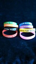 Blessed For Success Silicone Wristband