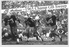 12x18 PAUL HORNUNG Packers Sweep 1965 Championship Game Photo Browns