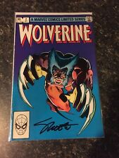 WOLVERINE #2 1982 SIGNED By JIM SHOOTER w COA  Free Shipping