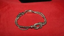 Sterling Silver Bracelet Anklet Tack Equestrian Pony Heavy Solid 7 1/2 inches