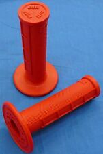 YAMAHA BANSHEE ODI HALF WAFFLE MX GRIPS RED NEW TWIST THROTTLE BDTM