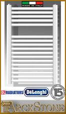ARCKSTONE De Longhi Termoarredo radiatore scaldasalviette acciaio bianco H69;I40