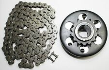 1'' Bore 14T #40/41/420 Centrifugal Clutch And Chain For Mini Bike Go Kart