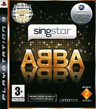 SINGSTAR ABBA        --  NEUF   -----   pour PS3