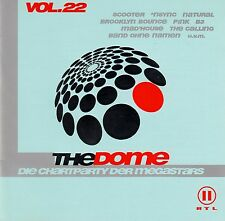 THE DOME VOL. 22 - DIE CHARTPARTY DER MEGASTARS ! / 2 CD-SET - TOP-ZUSTAND