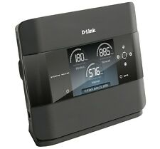D-Link DIR-685 Wireless N Gigabit Router 300Mb WiFi Photoframe LCD USB NAS SATA