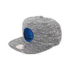 New NBA Golden State Warriors - MITCHELL & NESS - Grey Noise Snapback Hat