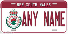 New South Wales Fire Any Name Personalized Novelty Car License Plate