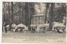 Parc de Versailles Cafe Restuarant de la Flotille du Canal Postcard 440a