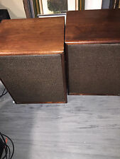 "EV ELECTRO-VOICE SP-12B 12"" EV & Timber wolf speakers & crossovers Vintage Pair"