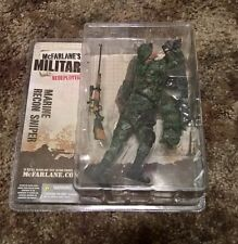 MARINE RECON SNIPER - MCFARLANE MILITARY REDEPLOYED SERIES 1 - NEW - NIP