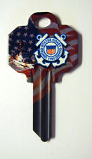 COAST GUARD BLANK HOUSE KEY FOR 5 PIN SCHLAGE SC1 CAN BE PUNCHED TO YOUR CODE