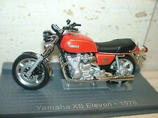 ddst) YAMAHA XS ELEVEN 1978, 1:24 scale, Altaya series made by IXO